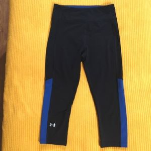 Under Armour compression cropped Heatgear leggings